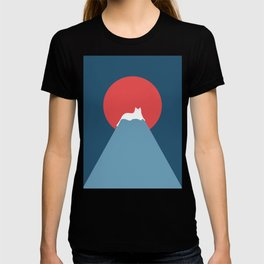 Cat Landscape 28 T-shirt
