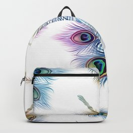 Peacock Dancer Backpack