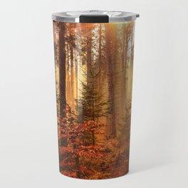 Autumn Landscape Forest Photograph Travel Mug