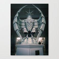 The Eagle from the Hello H5 exposition at la Gaité Lyrique. Canvas Print
