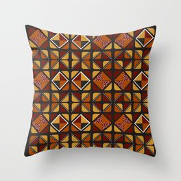 Zulu sawubona Throw Pillow