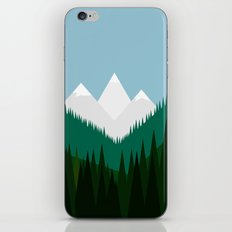 Pacific Northwest Mountains iPhone & iPod Skin