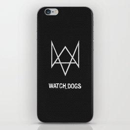 Watchdogs logo iPhone Skin