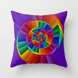 .colors everywhere -1- Throw Pillow