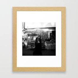 Strangers of New York  Framed Art Print