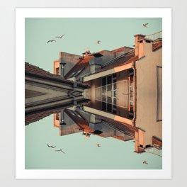 Burgas Art Print