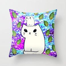 cats-425 Throw Pillow
