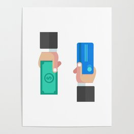 Credit Card Transaction Poster