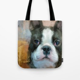 I Adore You Boston Terrier Art Tote Bag