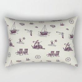 A trip to the Seaside Rectangular Pillow