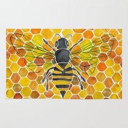 Bee & Honeycomb Rug
