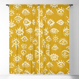 Mystic Eyes – Marigold Palette Blackout Curtain