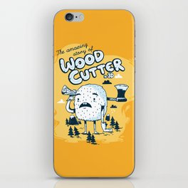 The WoodCutter iPhone Skin