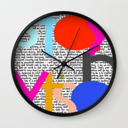Stay Nasty Wall Clock