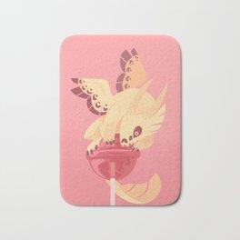 Dragonpop creamy death strawberry Bath Mat