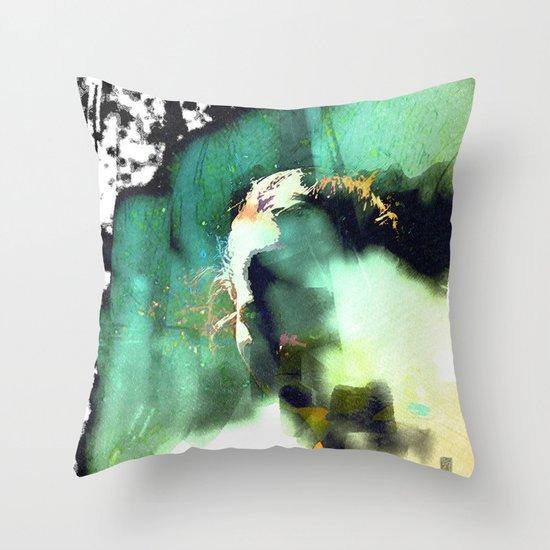 the model Throw Pillow