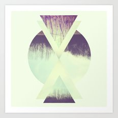 branches. Art Print