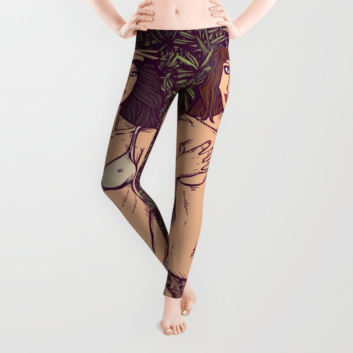 d85c3d77 ROXY MUSIC - Country Life Leggings by egarcigu | Society6