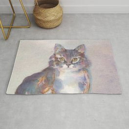 Purling Puss Rug
