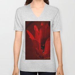 Crimson Awakening Unisex V-Neck
