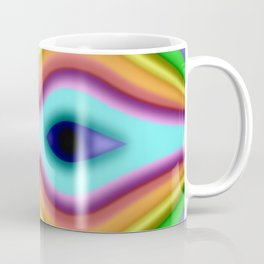 Softly rainbow mask Coffee Mug