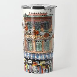 Chinatown Shophouse, Singapore Travel Mug