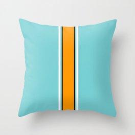 Classic Racing Design Throw Pillow