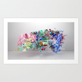 Colour Form & Expression #6 Art Print