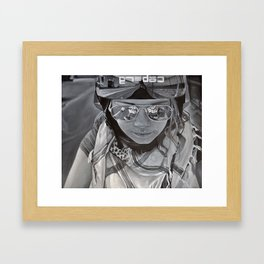 it isn't about the destination it's about the journey Framed Art Print