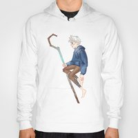 jack frost Hoodies featuring Jack Frost by Rosita Maria