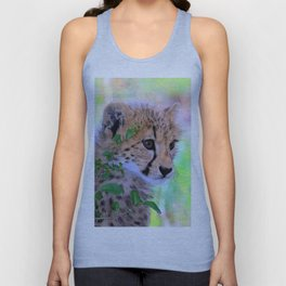 Aqua_Cheetah_20180102_by_JAMColorsSpecial Unisex Tank Top