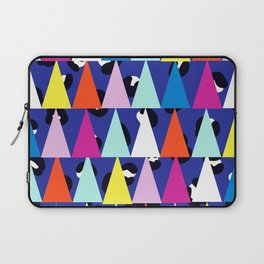 Triangle Animal Print in Royal Blue Laptop Sleeve