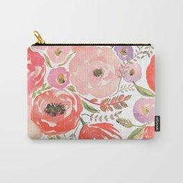 Flower Profusion Carry-All Pouch
