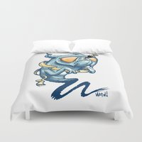 beard Duvet Covers featuring Beard by ART OF SOOL