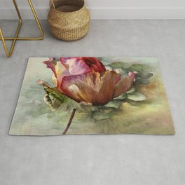 The Last Rose of Summer Rug