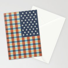 Plaid Flag. Stationery Cards