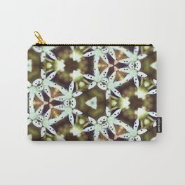 Flower Prism Original Artwork by Rachael Rice Carry-All Pouch
