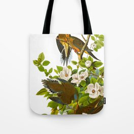Carolina Pigeon Vintage Illustration Tote Bag