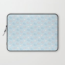 Baby Rhinos in a row Laptop Sleeve