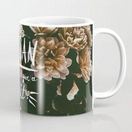 VEGAN because I give a *shit* Coffee Mug