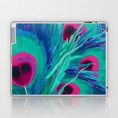 Peacocks Feathers Laptop & iPad Skin