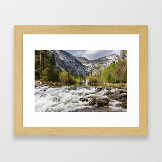 Mirror Lake and Rapids at Yosemite by _kostas_