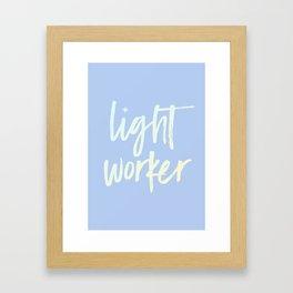 Lightworker Framed Art Print