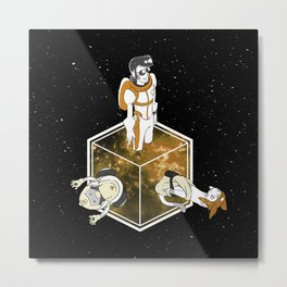 Space Dandy - Welcome to Dimension X Metal Print