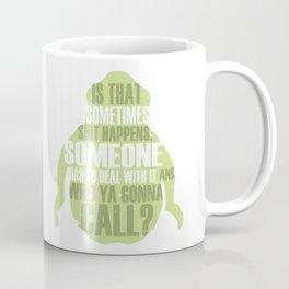 Who ya gonna call? Ghostbusters Tribute Coffee Mug