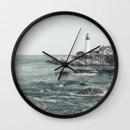 Portland Head Light, Portland, ME. 2019 Wall Clock