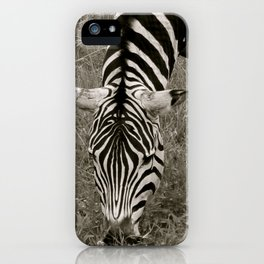 Zebra crossing iPhone Case