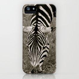 Zebra crossing iPhone Case
