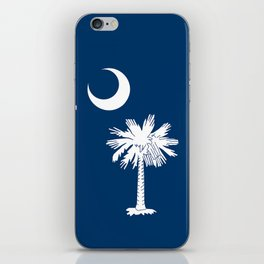 State flag of South Carolina - Authentic version iPhone Skin