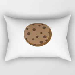 Chocolate Chocolate Chip Rectangular Pillow